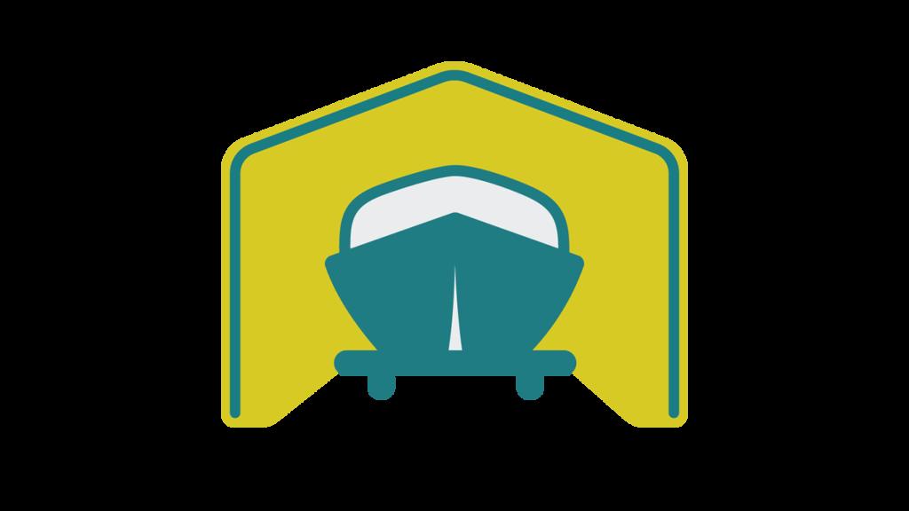 15' Wide Boat & RV Shelter