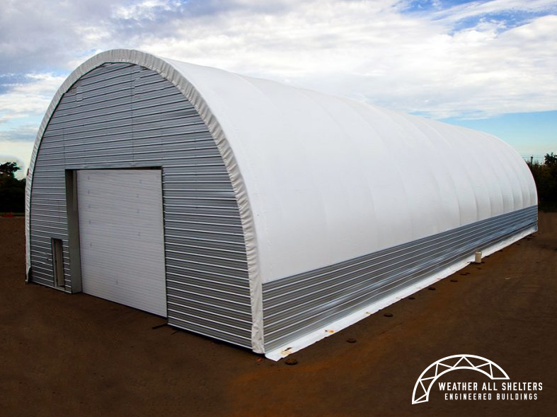 30' Wide Engineered Portable Fabric Building