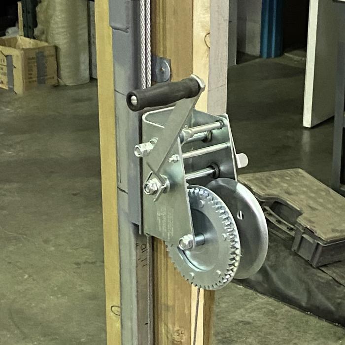 Crank System Roll-Up Door Crank