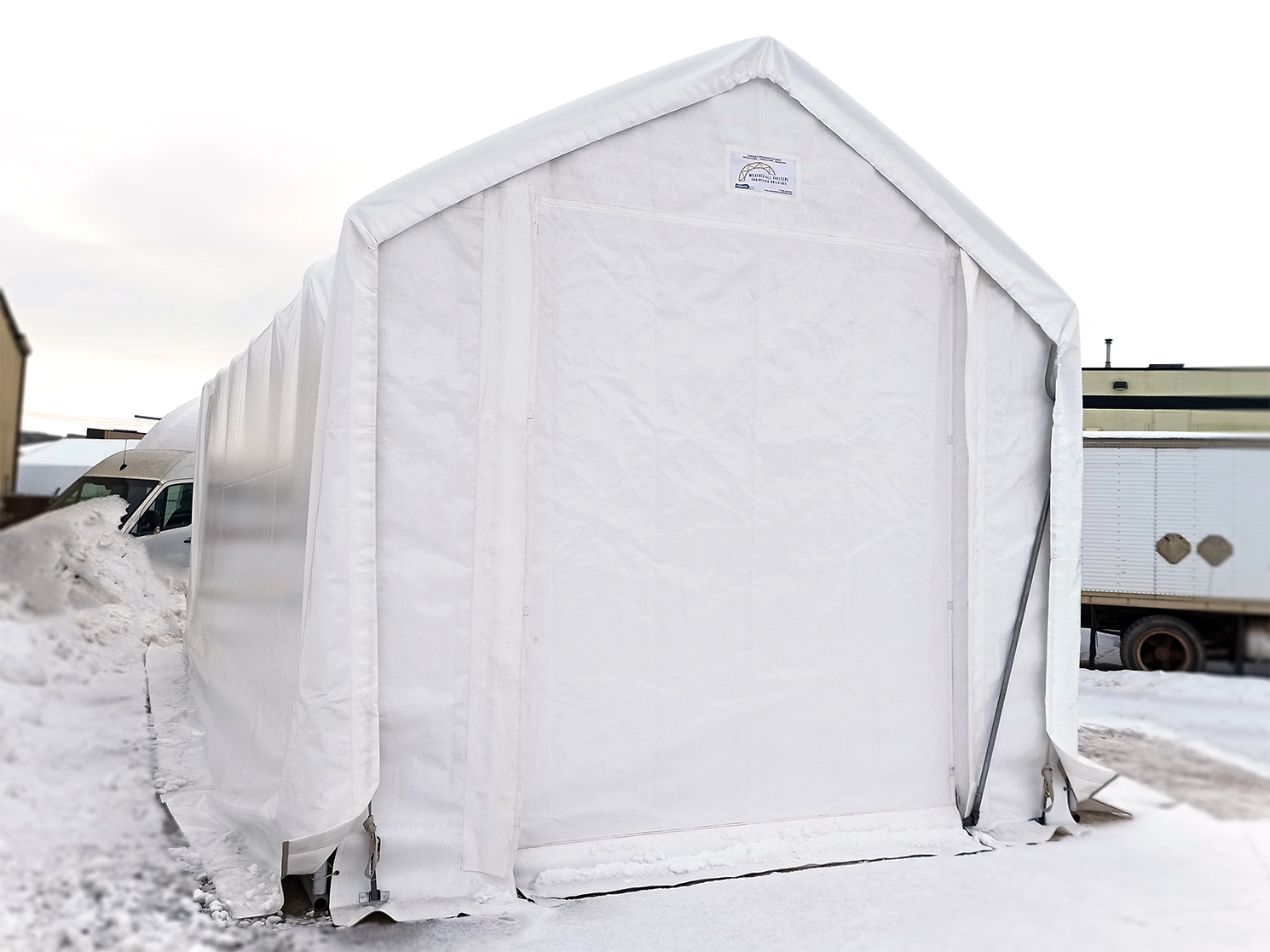 15' wide by 30' long Boat & RV Shelter