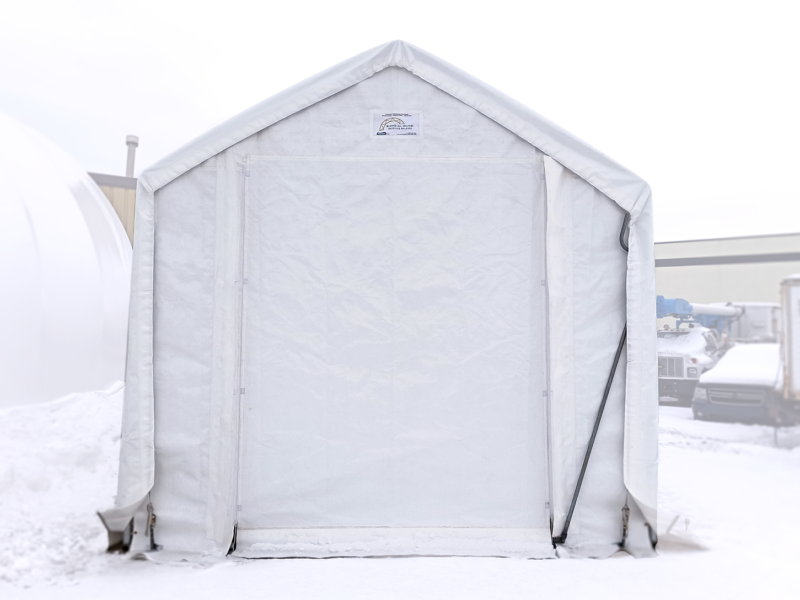15' Wide Boat & RV Shelter Front