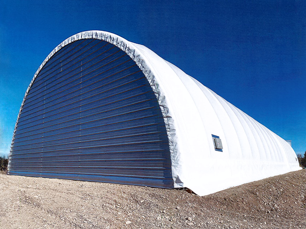 38' Wide Portable Fabric Shelter
