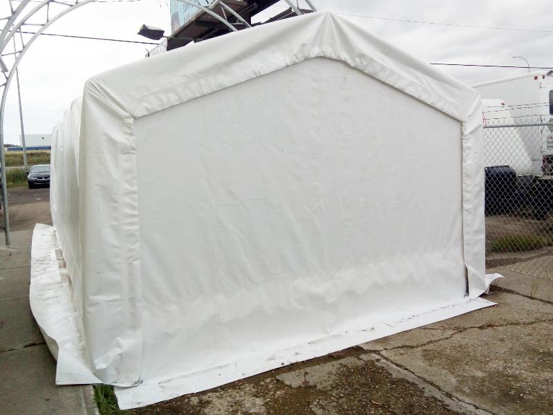 Endwall 12' Wide Portable Garage