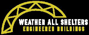 Weather All Shelters Logo Dark Background