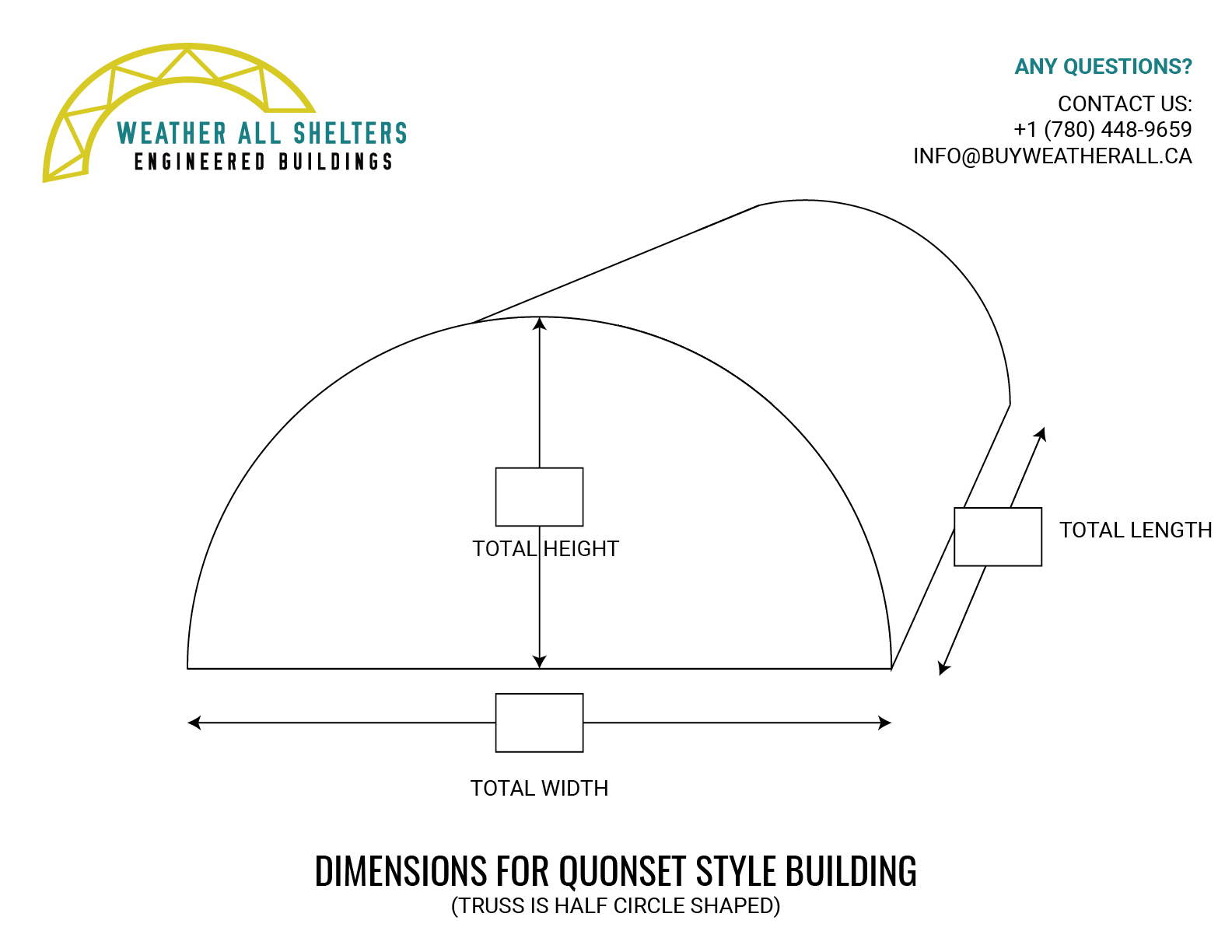 Building Replacement Cover - Quonset Style